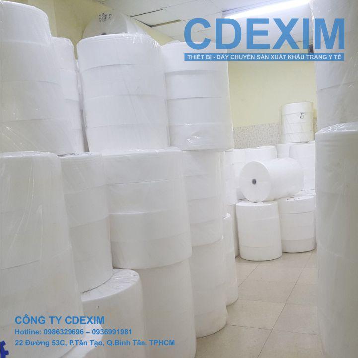 Vải lọc khuẩn SMS tại kho hàng CDEXIM