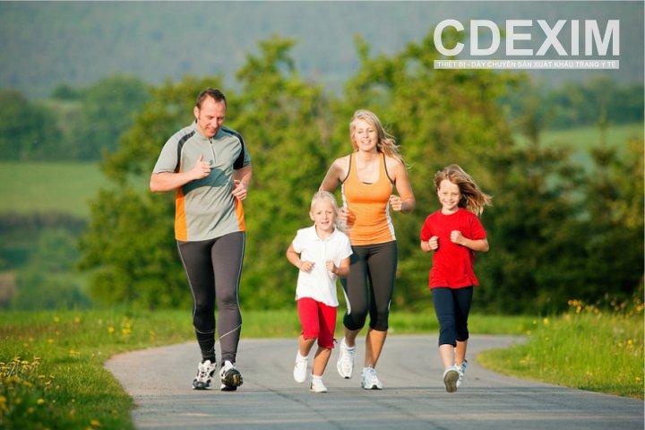 hế độ dinh dưỡng cân bằng và tập thể dục
