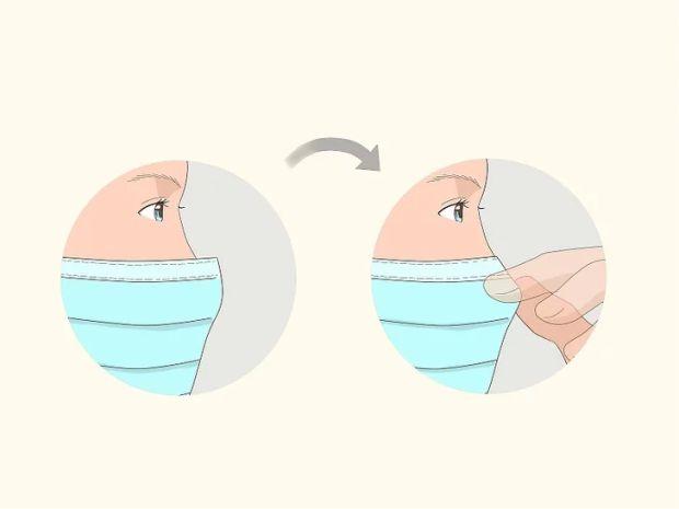 Làm thế nào để không bị mờ kính khi đeo khẩu trang y tế